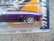Hot Wheels 2012 120 1973 Ford Falcon XB Super treasure hunt 2 front