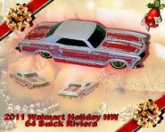2011 Walmart Holiday HW 64 Buick Riviera