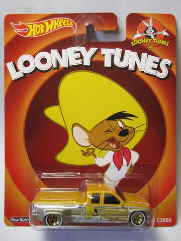 File:Hot Wheels 2014 Pop Culture Looney Tunes Customised C3500 Card.jpg