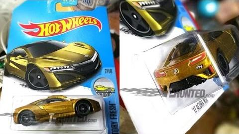 Super T-Hunt '17 Acura NSX Hotwheels