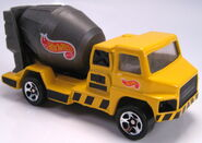 Hot Wheels Construction Action Pack Cement Truck