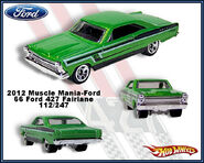 2012 Muscle Mania-Ford 66 Ford 427 Fairelane 112-247