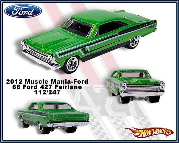 File:2012 Muscle Mania-Ford 66 Ford 427 Fairelane 112-247.jpg