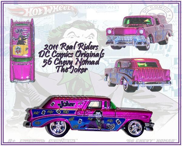 File:2011 HW Real Riders DC Comics Originals 56 Chevy Nomad Joker.jpg