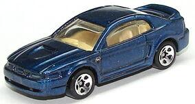 99 Mustang Blu