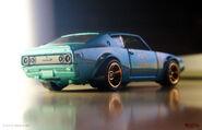 Skyline 2000GT-R rear