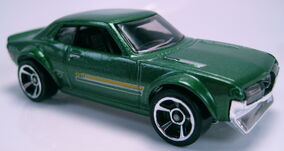 70 Toyota Celica green 2013 HW City