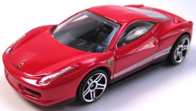 File:Ferrari 458 Italia red left facing.JPG