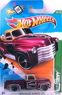 52 Chevy 2012 Treasure hunt error no glass