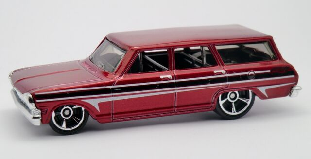 File:' 64 Chevy Nova Station Wagon-2013 195 Burgundy.jpg