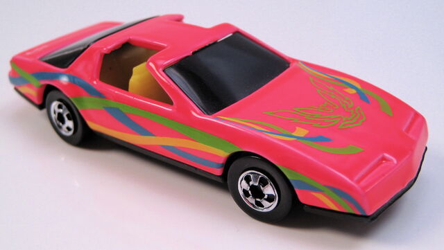 File:80s Firebird neon red ribbon tampo yellow interior tinted glass BW MAL base.JPG
