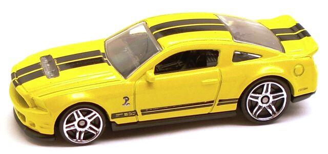 File:10ShelbyGT500 Yellow.JPG