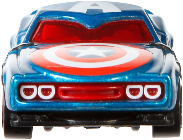 File:BDM73 Hot Wheels Marvel Character Cars - Captain America HW Marvel Cars Captain America XXX 4.jpg