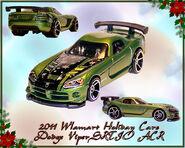 2011 Walmart Holiday HW Dodge Viper SRTIO ACR