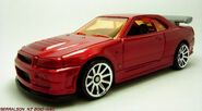 CUSTOM RED NISSAN 2
