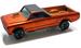 Custom fleetside 1968 orange