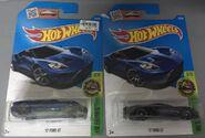 2016 073-250 HW Exotics 03-10 '17 Ford GT -New Model- -Super Treasure Hunt Comparison- Blue
