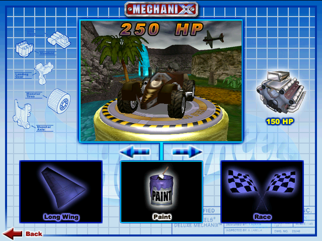 File:Screamin' Hauler was Playable in Hot Wheels Mechanix PC 2000 Virtual Collection.PNG