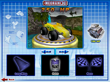 Track T was Playable in Hot Wheels Mechanix PC 2000 Hot Rod Magazine Series