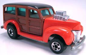 '40s Woody orange smooth sides BW hi-raker