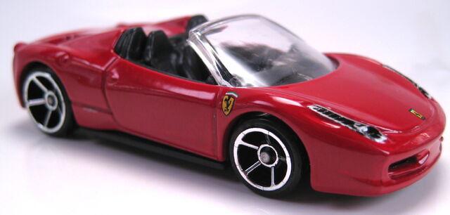 File:Ferrari 458 Italia Spider red.JPG