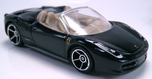 File:Ferrari 458 Spider black 2013 HW showroom.JPG