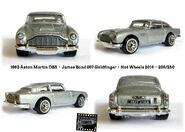 Aston Martin DB5 Goldfinger Hot Wheels 200-250 2014