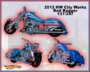 2012 HW City Works Bad Bagger 137-247