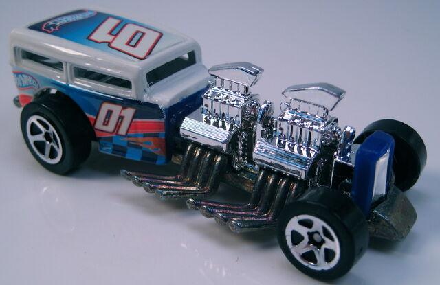 File:Way 2 Fast NASCAR Hot Wheels racing 5sp wheels metal Thailand base.JPG