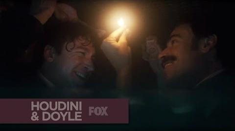 """HOUDINI & DOYLE - A Watery Grave from """"The Maggie's Redress"""" - FOX BROADCASTING"""
