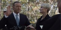 First Inauguration of Frank Underwood