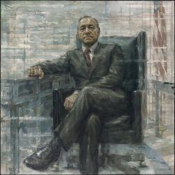 Frank Underwood official portrait