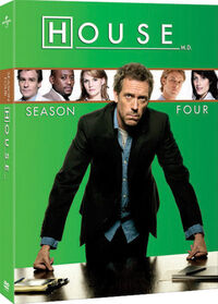 House Season 4 DVD Cover