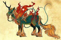 Qilin-of-Chinese-mythology