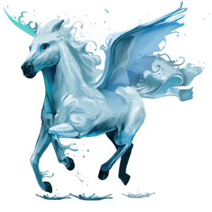 Datei:5. Element, Pegasus, Wasser.png