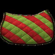 Klassische Satteldecke 2 Rot Grün