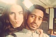 Karla souza and alfred enoch