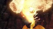 Fireworm Queen Flames