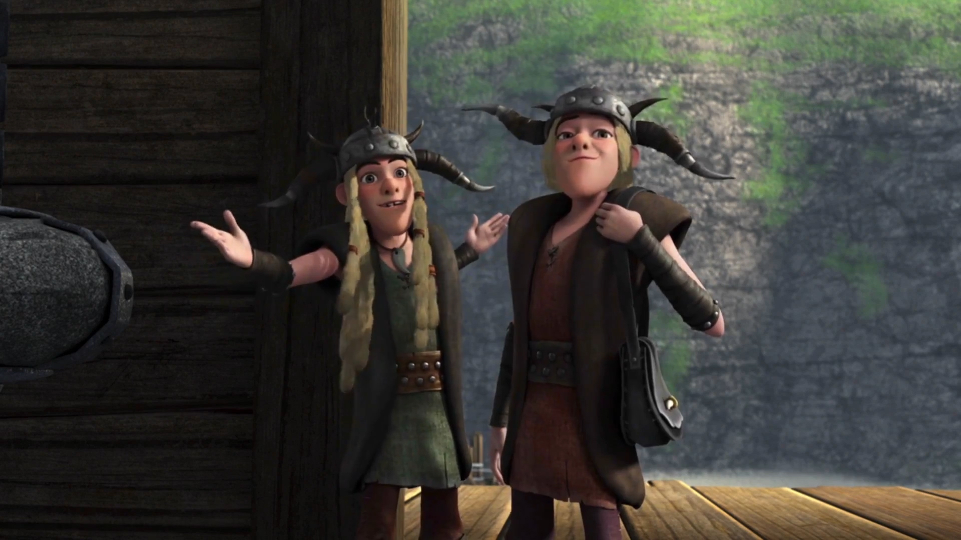 How To Train Your Dragon 2 Gruff Around The Edges