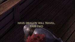 Have Dragon Will Travel Part II title card