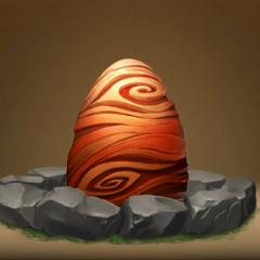 Huevo de Tifómerang en El Resurgir de Mema