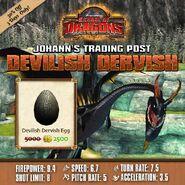 Devilish Dervish Egg Sale
