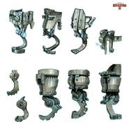 Pierwsze szkice protezy Czkawki JWS2