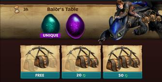 Baldrs Table ROB