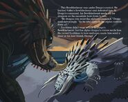 Toothless story page Drago's Bewilderbeast defeat Valka