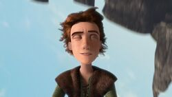 Hiccup doing his trick