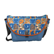 Dragon Patches Pattern Courier Bag