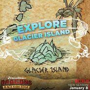 Glacier Island Explore Map