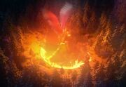 Torch's mother fire ring