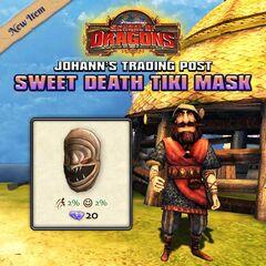 Máscara de Muerte Dulce